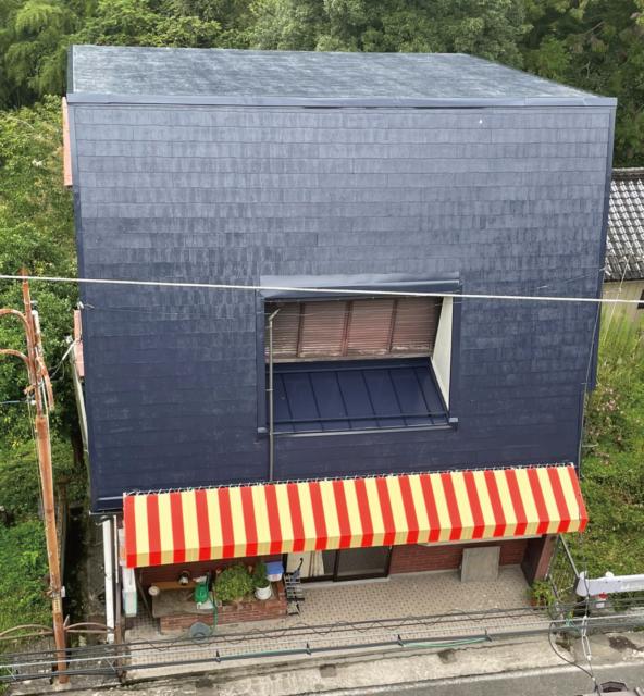 下伊那郡阿南町 H様邸にて屋根塗装工事他を行いました。