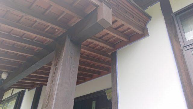 木部塗装完成です