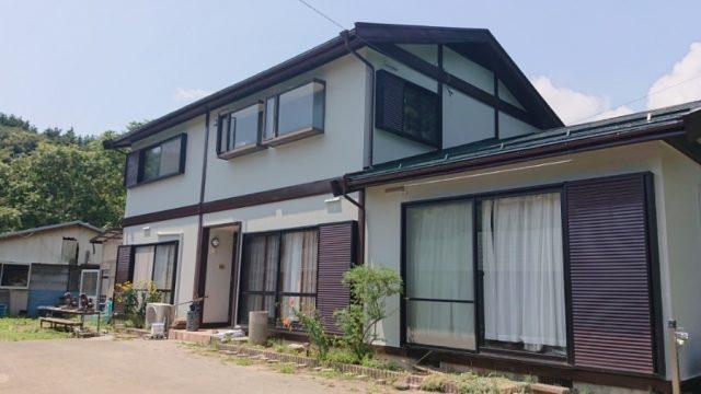 竹澤邸完成写真です