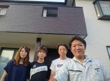 安田様邸お客様写真です