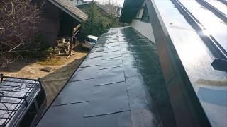 長野県宮田村トタン屋根塗装完成1