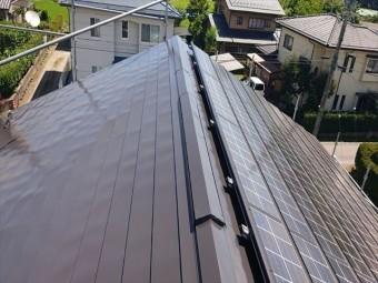 長野県駒ヶ根市外壁屋根塗装屋根下塗り2