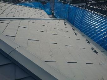 屋根塗装現状 ウッドピース
