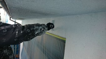 塩尻市外壁塗装屋根カバー下塗り2