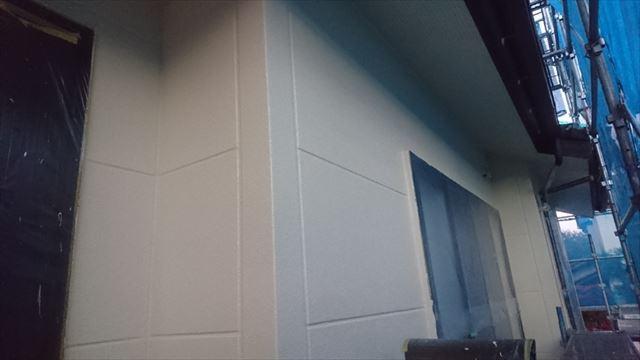 飯田市サンワ外壁塗装完成1