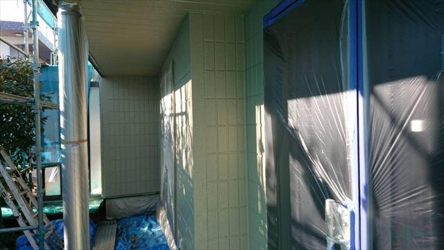 駒ヶ根市外壁塗装ベージュ5