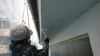 塩尻市外壁塗装屋根カバー下塗り3