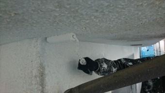 塩尻市外壁塗装屋根カバー下塗り4