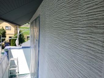 長野県駒ヶ根市外壁屋根塗装シーラー外壁6