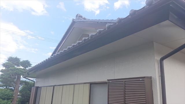 長野県駒ヶ根市モルタル外壁塗装現調1