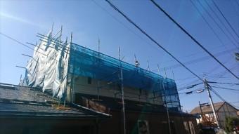 松本市三井屋根洗浄3
