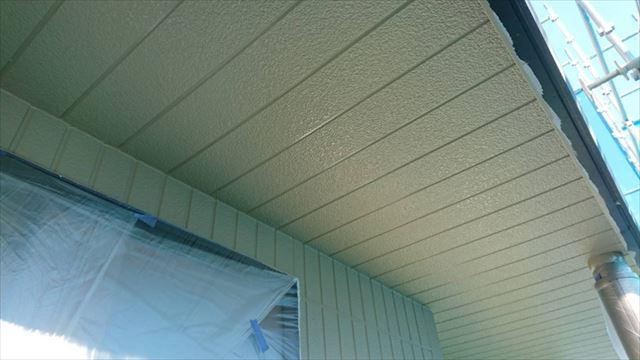 駒ヶ根市外壁塗装ベージュ4