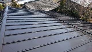 長野県宮田村トタン屋根塗装完成6