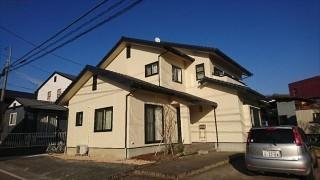 飯田市龍江サンワホーム外壁塗装完成1