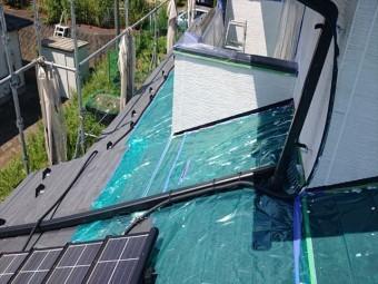 長野県駒ヶ根市外壁屋根塗装シーラー外壁4