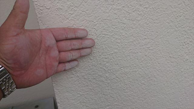 長野県駒ヶ根市モルタル外壁塗装現調3