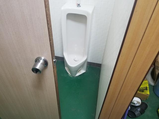 和式トイレを洋式にリフォームします③