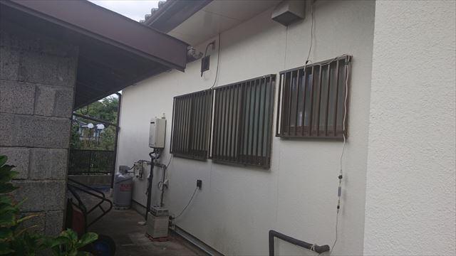 長野県駒ヶ根市モルタル外壁塗装現調4