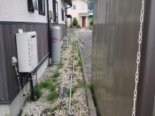 長野県駒ヶ根市外壁屋根塗装仮設足場6