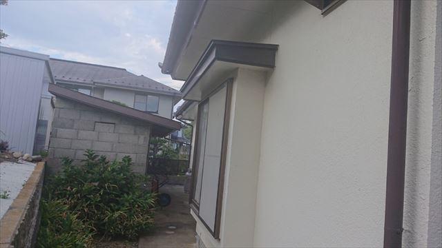長野県駒ヶ根市モルタル外壁塗装現調6