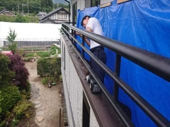 長野県飯島ベランダ解体5