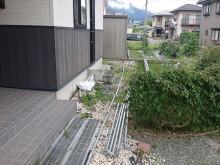 長野県駒ヶ根市外壁屋根塗装仮設足場9