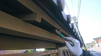 駒ヶ根木壁下塗り6