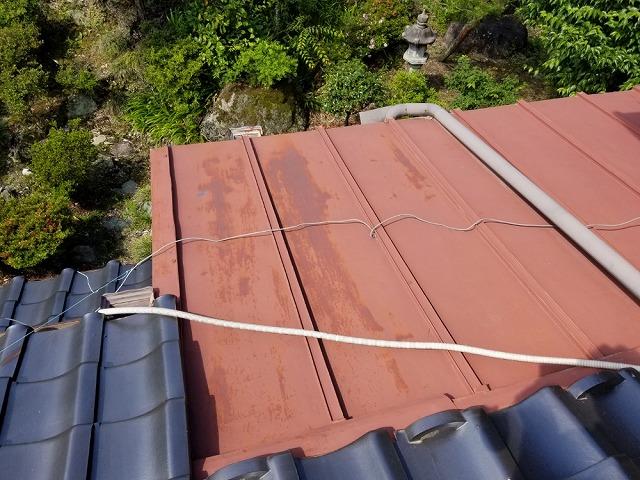 トタン屋根の点検をしてきました