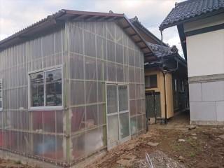 長野県飯島町農業用ポリカ外壁交換7