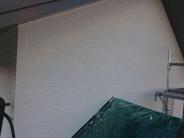 長野県駒ヶ根市外壁屋根塗装中塗り2