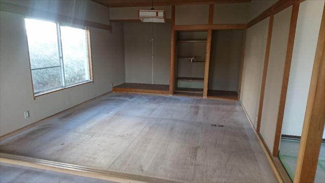 飯田市松尾和室撤去4