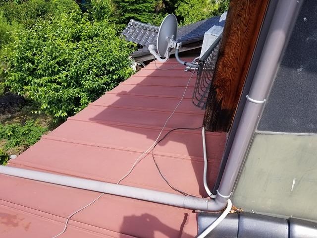 トタン屋根の点検をしてきました①