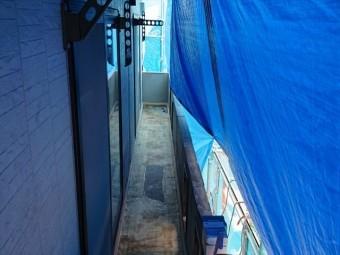 長野県飯島町ベランダ改修FRP2