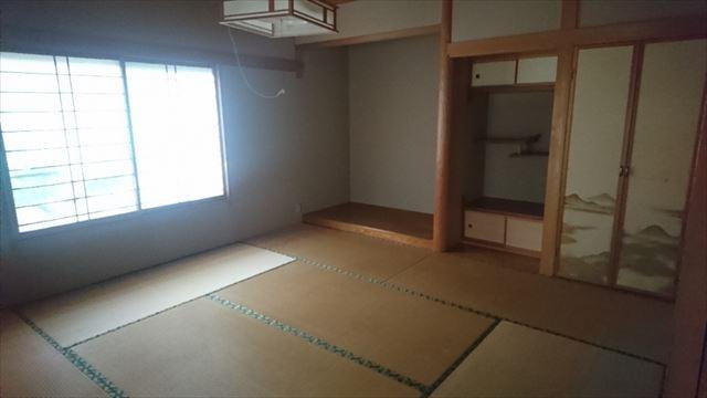 飯田市松尾和室現状2