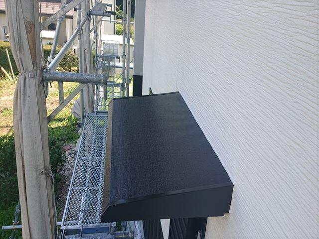 長野県駒ヶ根市外壁屋根塗装上塗り1
