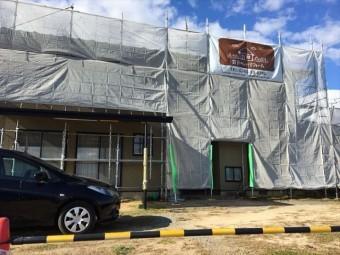 足場組み外壁塗装
