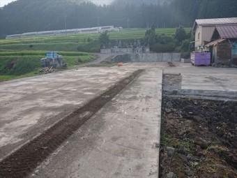 長野県飯島町スレート牛舎解体後半6