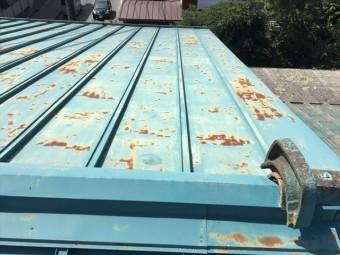 トタン塗装施工前