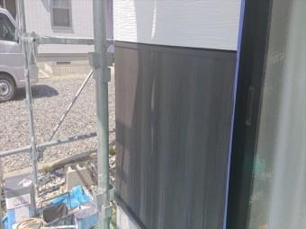 長野県駒ヶ根市外壁屋根塗装中塗り5