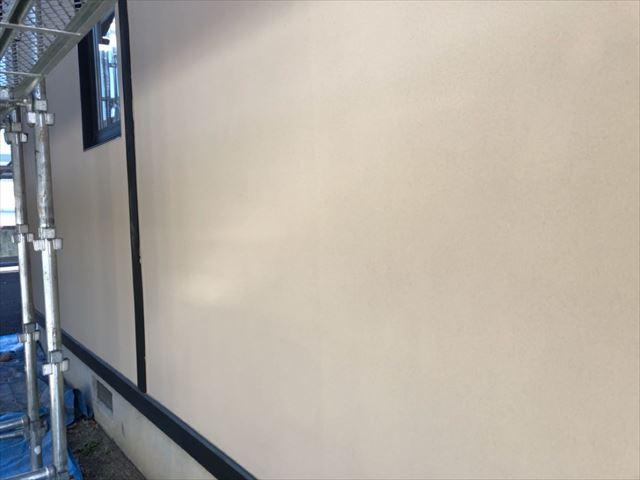 ジョリパット下塗り完成です