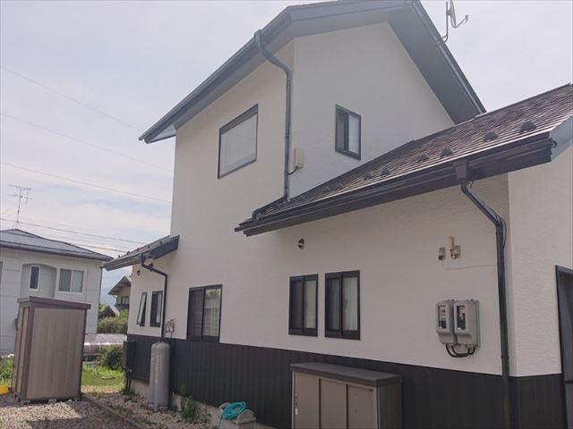 長野県駒ヶ根市外壁屋根塗装完成1