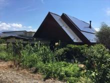 勾配のきつい屋根