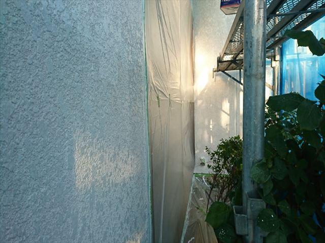 喬木村外壁下塗り5