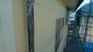 飯田市大瀬木外壁塗装中塗り2