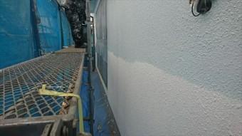 塩尻市外壁塗装屋根カバー中塗り2