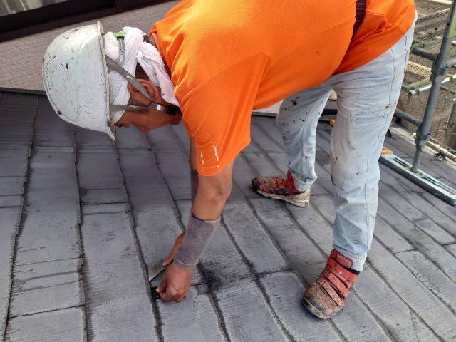 飯田市屋根塗装タスペーサー