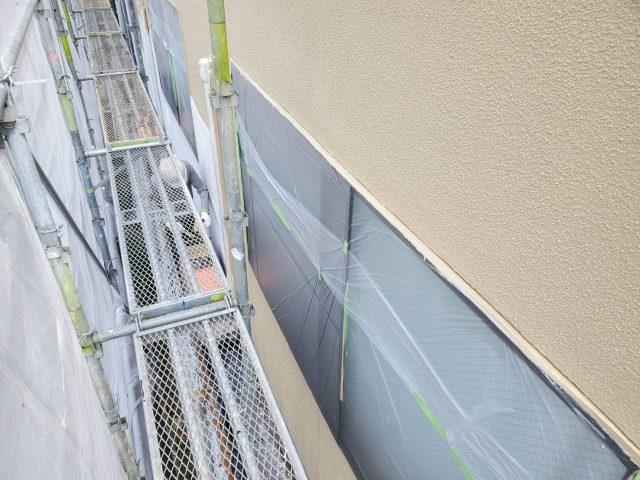 外壁_塗装中塗り2
