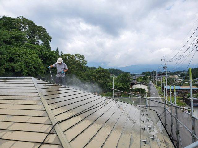 高圧洗浄_屋根2