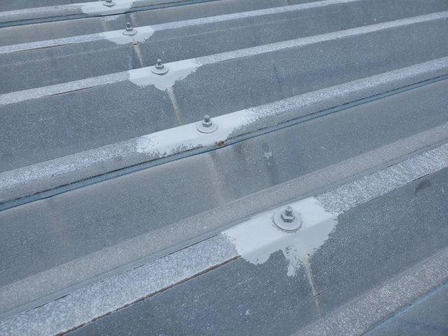 折板屋根_補修2