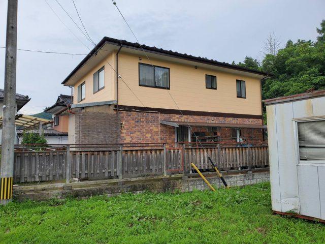 下伊那郡松川町の【遮熱塗料】を使った外壁屋根塗装工事-6.外壁塗装~完成